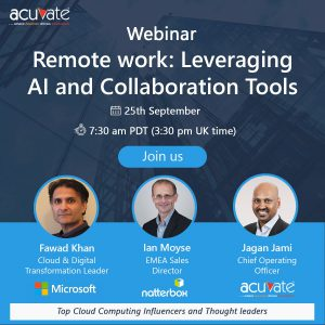 Remote Work Webinar: Leveraging AI and Collaboration Tools